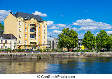 Norrkoping. Sweden - Norrkoping town. Ostergotland, Sweden,...