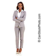african american businesswoman - happy african american...