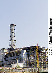 Chernobyl nuclear reactor 4, the place of biggest nuclear...