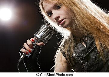 Singing - Girl singing