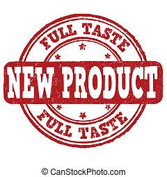 New product, full taste stamp