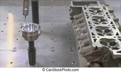 Machine tool - Processing items for metal working machine