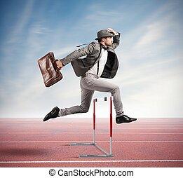 Saltar, obstáculo