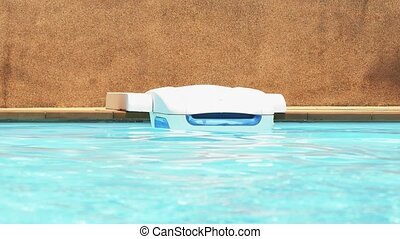 Swimming Pool Cleaning Equipment. Pool Water. Speed up. HD,...