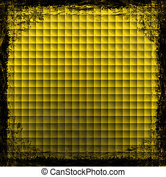 Yellow, Gold, grunge background. Abstract vintage texture...