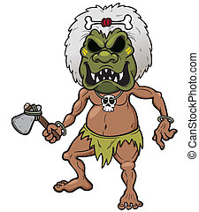 Tribal Warrior - Vector illustration of Tribal Warrior