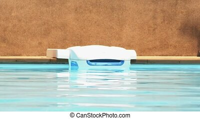 Swimming Pool Water Cleaner. Cleaning Equipment. HD,...
