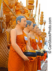 Candle festival in Thailand