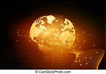 Digital Earth and fiber optics - Digital Earth fiber optics...