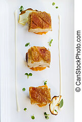 Roasted Pork Belly Cubes - Delicious roasted pork belly...