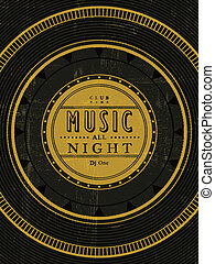 music all night poster