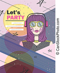 let's party poster