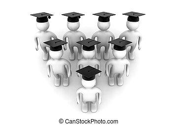 3d Graduating Students
