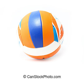 volleyball on a white background