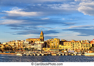Nice small town in Spain (Palamos)