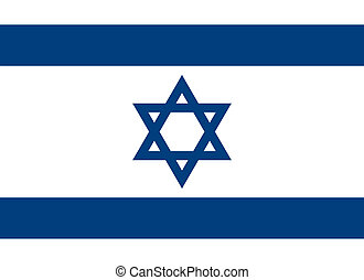 Israel flag - Vector Israel national flag