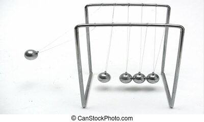 Playing with Newton´s Cradle - Canon HV30. HD 16:9 1920 x...