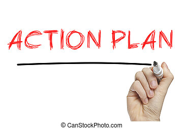 Hand writing action plan