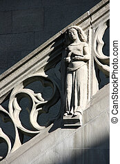 Bern sculpture - Detail of Berne city hall - sculpture...