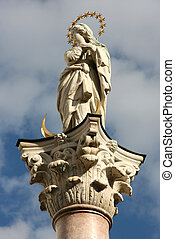 Our Lady column