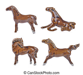 Ceramic horse souvenir,2014 is year of the horse