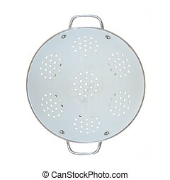 Colander - A close up shot of a draining colander