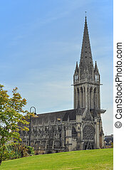 Saint Pierre Abbey Caen - Saint Pierre Abbey in Caen France