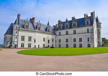 Chateau Amboise castle - Royal Chateau in Amboise in the...
