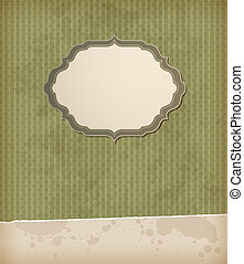 Green vintage background