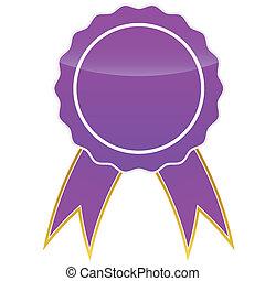 Purple medal