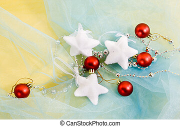 Christmas decoration - Holiday series: christmas red ball...
