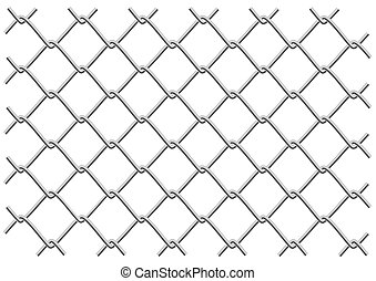 mesh fence - metal mesh fence as a background or object...