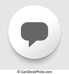 Chat speech balloons icon