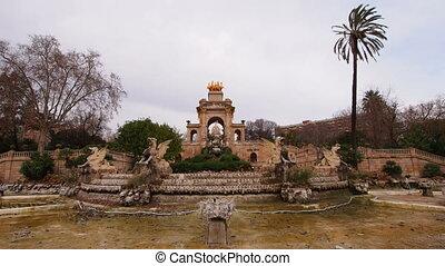 Ciutadella Park in Barcelona - Parc de la Ciutadella in...