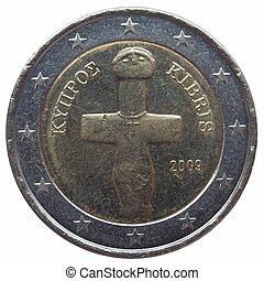 Euro coin from Cyprus - 2 EUR coin from Cyprus