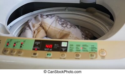 washing machine digital command