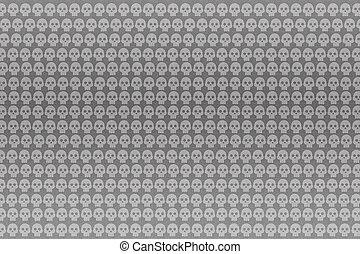 skull pattern for background