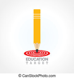education or focus on future concept vector