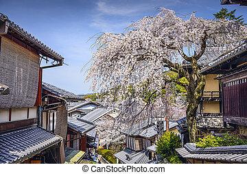 Higashiyama, Kyoto, Japan - Kyoto, Japan at the Higashiyama...