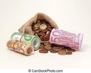 Money - many Money