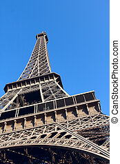 The Eiffel Tower in Paris, France - View on The Eiffel Tower...