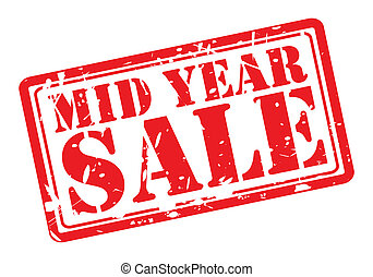 MID YEAR SALE red stamp text