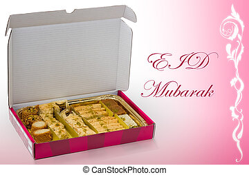 Eid Mubarak. Muslims religious festival