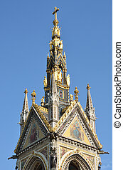 albert memorial hyde park - Top of albert memorial hyde park