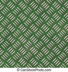 Diamond metal plate seamless generated hires texture