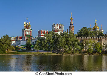 Novodevichy Convent, Moscow, Russia - view of Novodevichy...