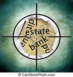 Estate bank target