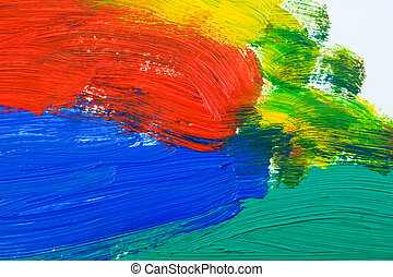 Abstract  painted