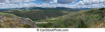 Sierra de la Culebra - 100mpix panoramic image of Sierra de...