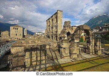 Aosta roman theatre